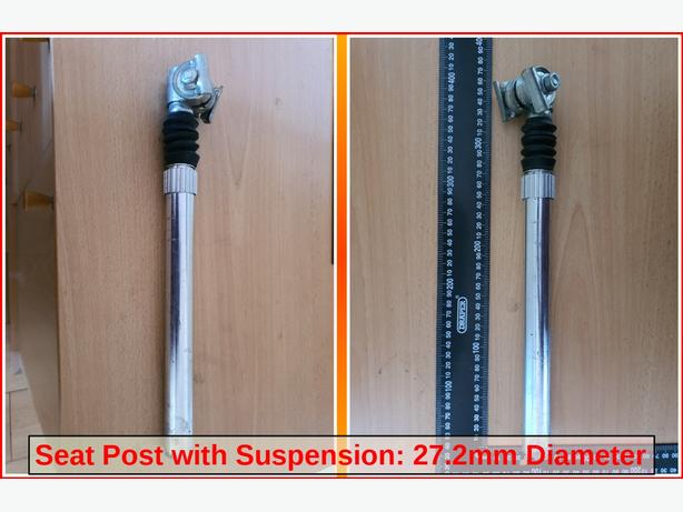Seat Post with Suspension.