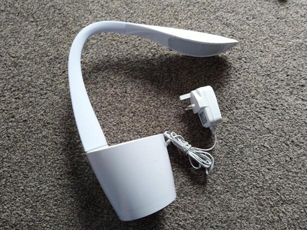 ottlite led desk organiser lamp gx 8280 usb
