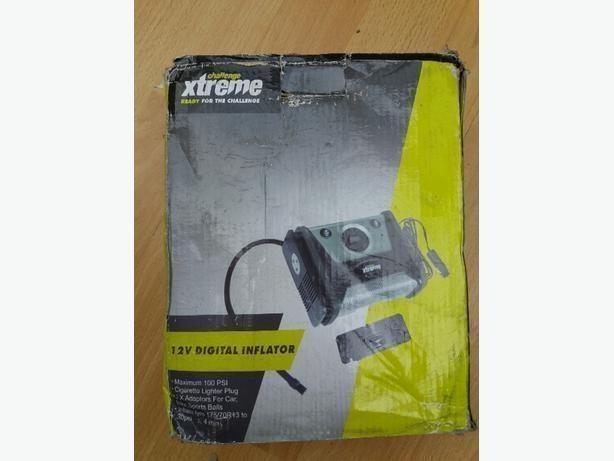 Brand New Challenge xtreme 12V digital inflator