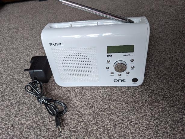 Pure One DAB/FM Portable Radio - White