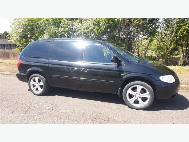 chrysler grand voyager exective cdr