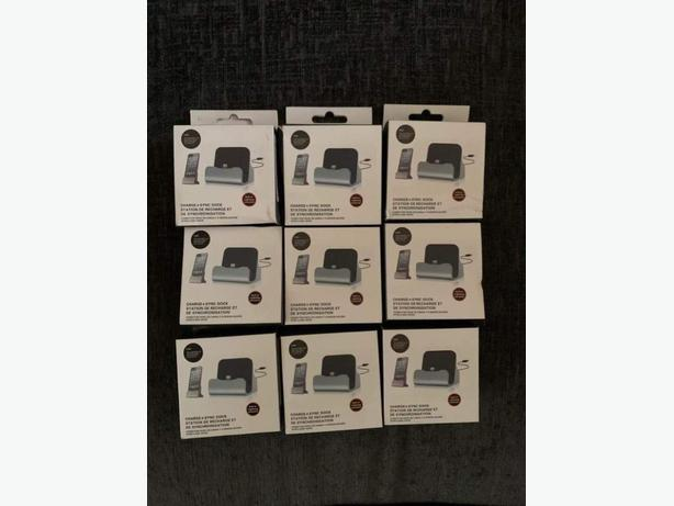 job lot of 35 x iphone sync docks