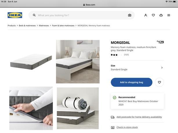 IKEA Single mattress