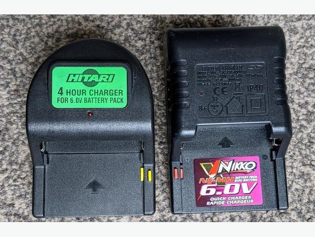 6.0V battery chargers Nikko & Hitari