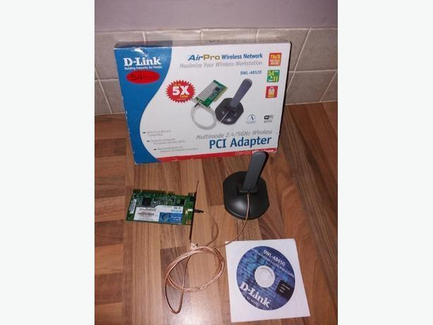 D-link air pro wireless network dwl-ab520 With installation