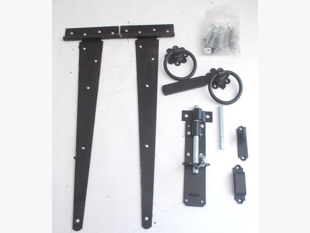 """Side Gate Hinge Set 18"""" (450mm)"""