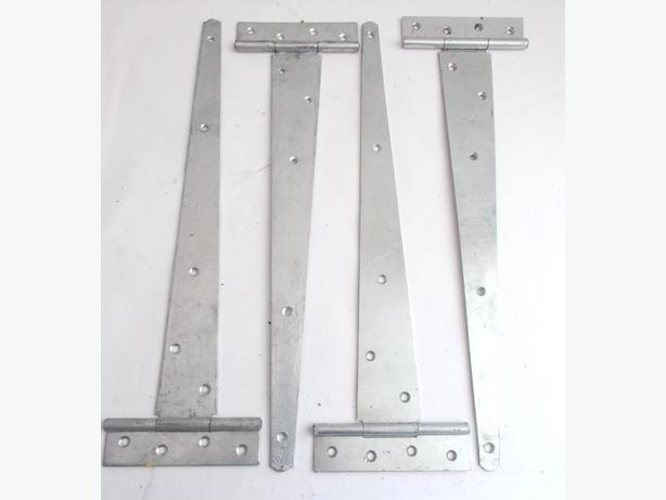 2 Sets of Silver Tee Hinges