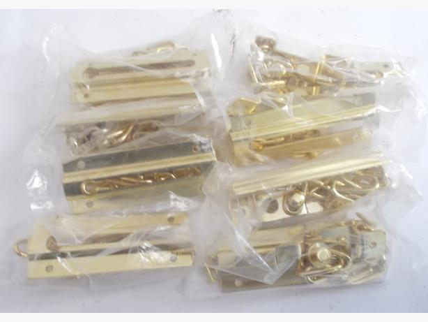 Joblot of 8 Gold Door Security Chains