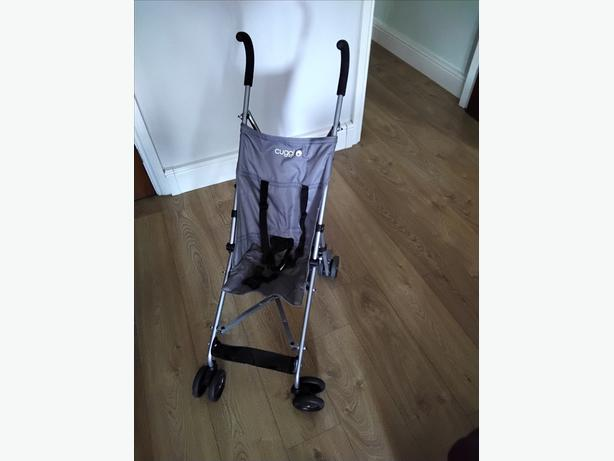 Lightweight pushchair