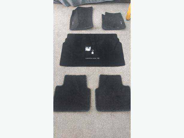 Vauxhall mats - full set