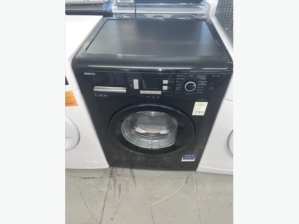 PLANET APPLIANCE - 7KG BEKO WASHER WASHING MACHINE IN BLACK