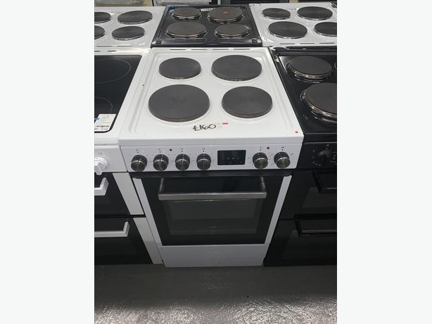 PLANET APPLIANCE - 50CM ELECTRIC COOKER IN WHITE