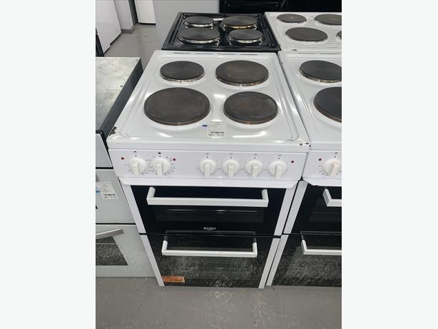 PLANET APPLIANCE - 50CM BUSH ELECTRIC COOKER IN WHITE