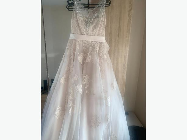Champagne Couture Wedding Dress