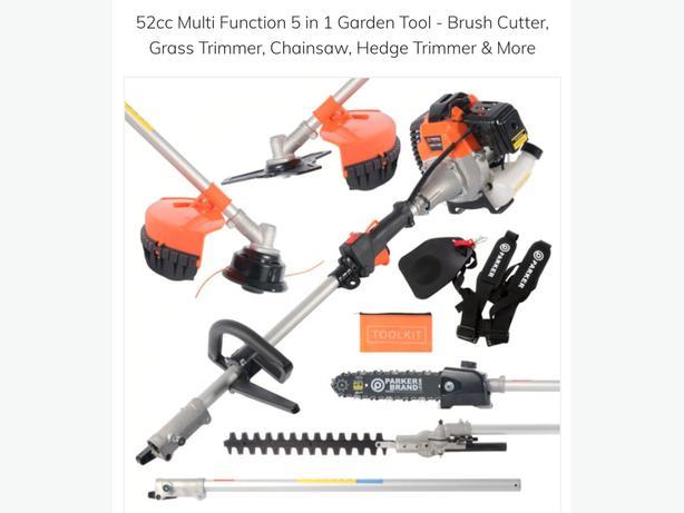 52cc petrol 5in1 cutting tool