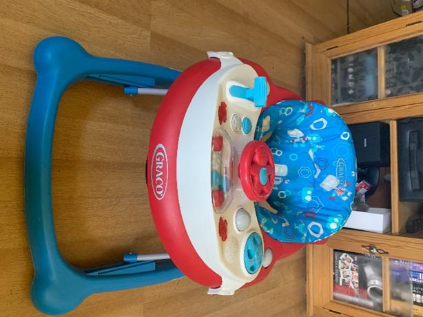 baby walker with detachable car toy