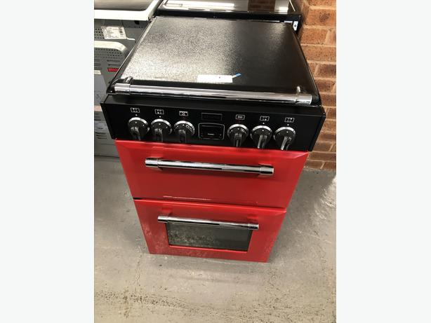 🟩Planet 🌍 Appliance - Stoves red 55cm Electric Cooker