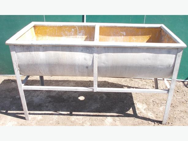 Ideal Garden Planter Large Water Washing Tub Galvanised