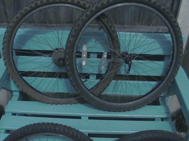 bike wheels X 4