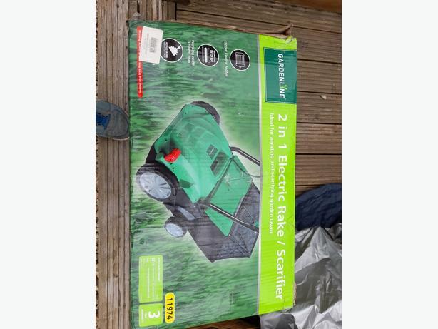electric rake / scarifier
