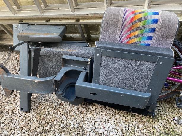 2 x side fitting fold away van seats