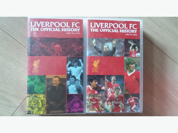 FREE:  Liverpool FC The Official History - Box Of 2 VHS Videos