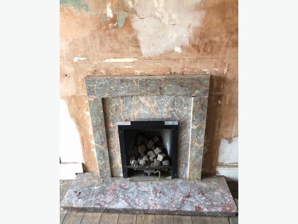 FREE: MARBLE FIREPLACE PIECES