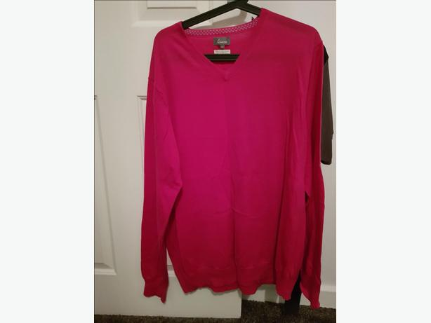 Men's XL and large clothing - as new