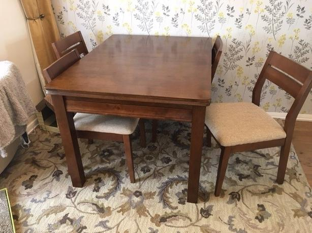 Wayfair Canterbury dining table and  chairs