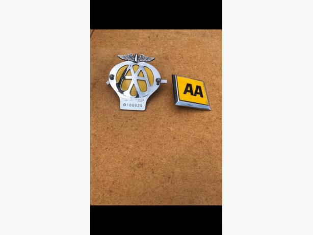 Pair of AA Badges