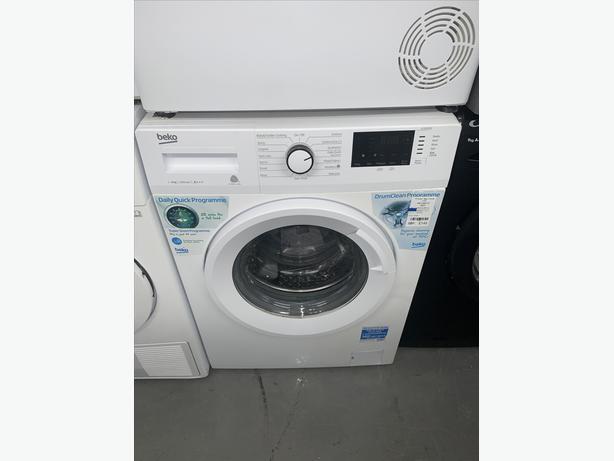 PLANET APPLIANCE - 9KG BEKO WASHER WASHING MACHINE IN WHITE