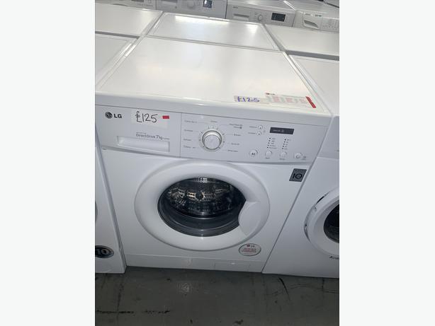 PLANET APPLIANCE - 7KG LG WASHER WASHING MACHINE IN WHITE