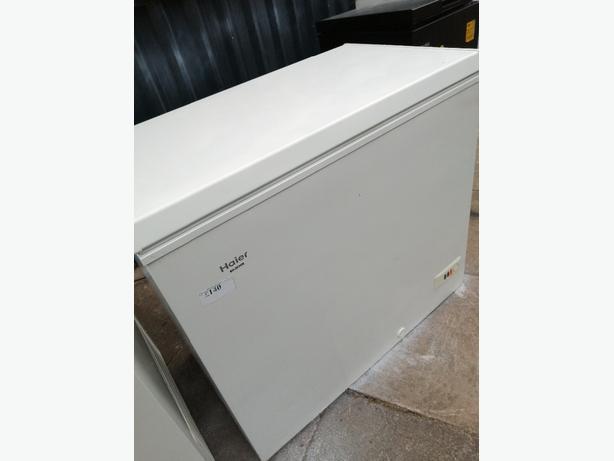 Haier chest freezer with 3 months warranty at Recyk Appliances