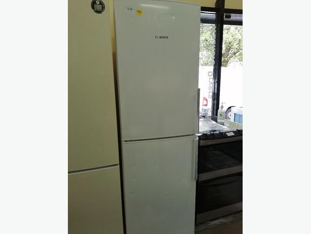 Bosch tall fridge freezer with warranty at Recyk Appliances