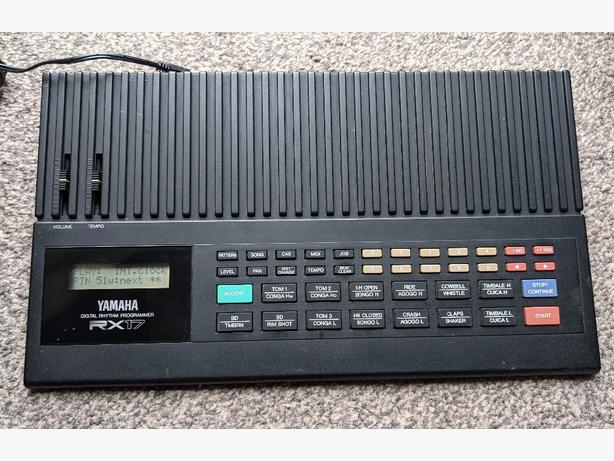 Yamaha Digital Rhythm Programmer RX17 Drum Machine