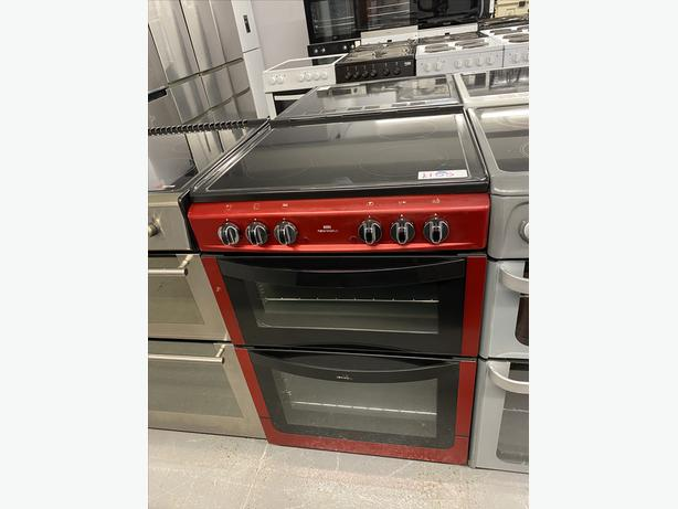 NEW WORLD 60CM WIDE ELECTRIC RED COOKER WITH GUARANTEE