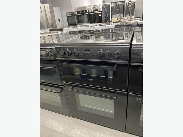 🟩🟩 BUSH 60CM WIDE ELECTRIC NEW GRADED COOKER WITH GUARANTEE