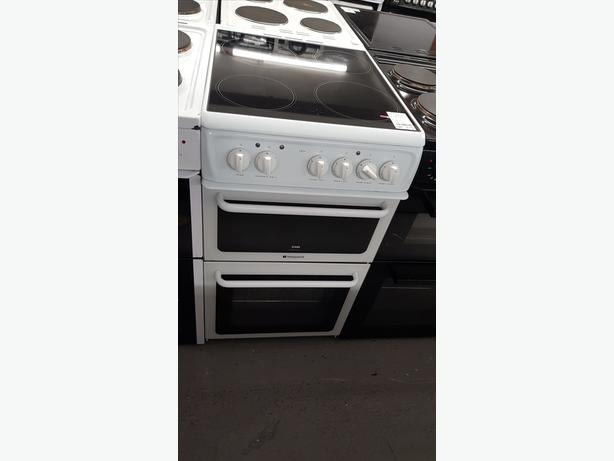 💚💚PLANET🌏APPLIANCE💚💚HOTPOINT 50CM ELECTRIC COOKER/OVEN