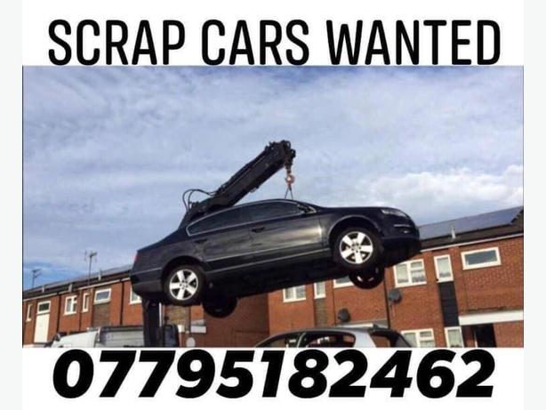 SCRAP & UNWANTED CARS WANTED
