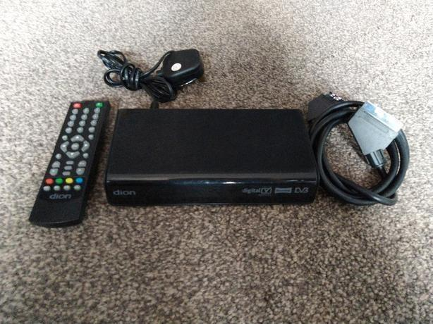 Dion digital set top box stb2aw11 with remote