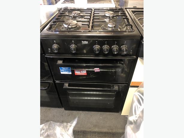 NEW/GRADED BEKO KDG611K 60cm Gas Cooker with Warranty
