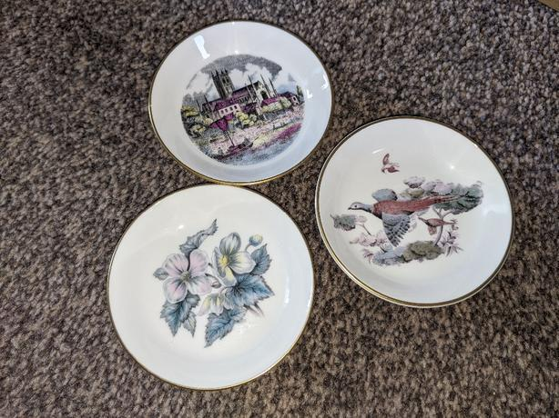 royal worcester pin small dishes