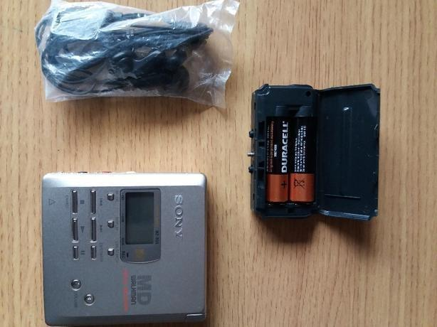 sony mini disc recorder mz-r55