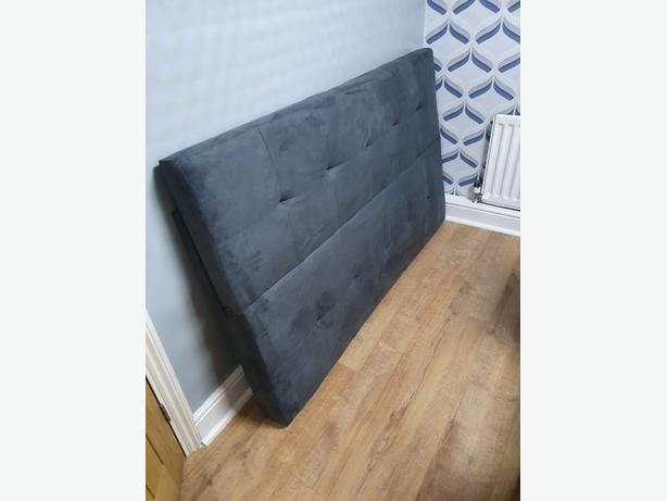 brand new grey sofa bed