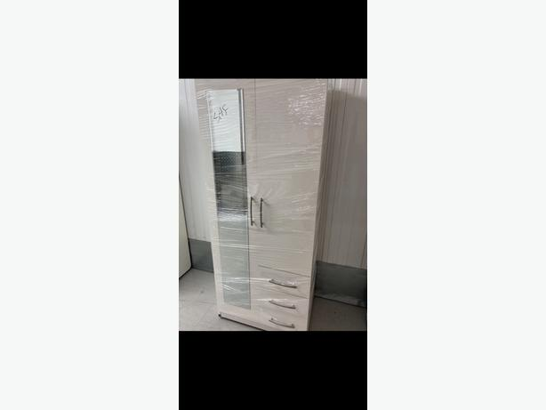 brandnew assembled 2 door wardrobe