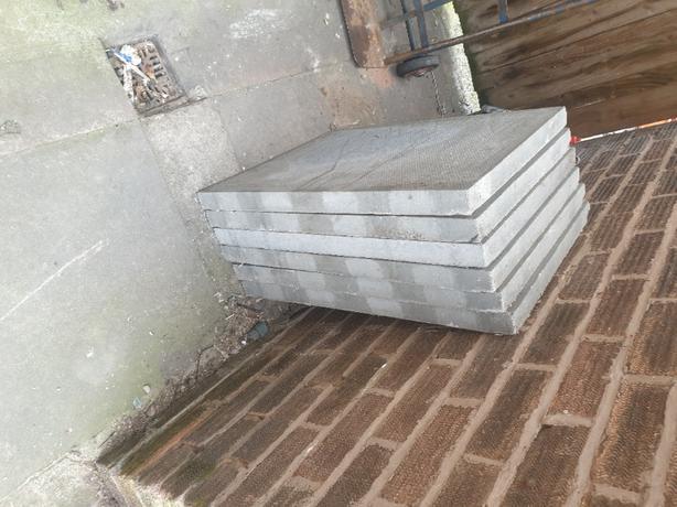 New grey slabs