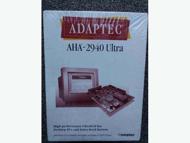 Brand new Adaptec AHA-2940 ultra SCSI for Desktop pcs and entry level saver