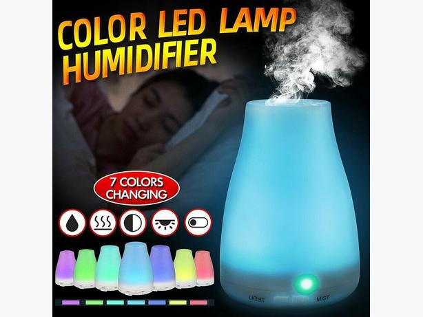 LED electrical aromatherapy oils air diffuser