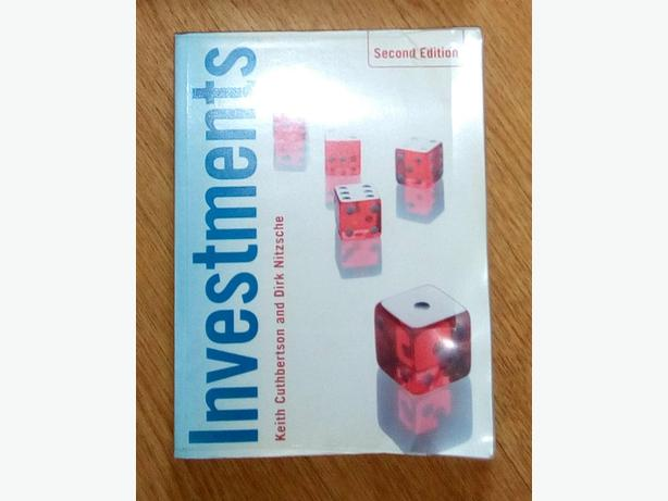Investments. Second Edition. Published 2008