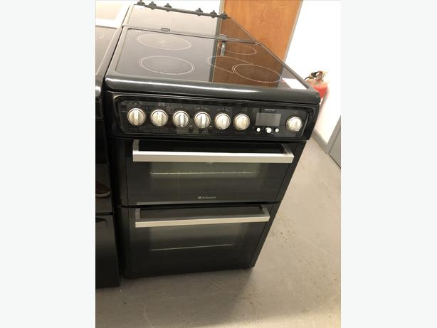 🟩🟩 PLANET 🌍 APPLIANCE- HOTPOINT 60CM ELECTRIC COOKER- WITH GENUINE GUARANTEE 🟩🟩